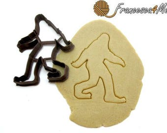 Sasquatch/Bigfoot Cookie Cutter/Multi-Size/Dishwasher Safe Available