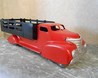 1940's Complete Marx Metal DeliveryTruck