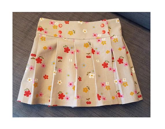 KILT Girl Skirt pattern Pdf sewing, Tartan or ANY Woven Fabric ...