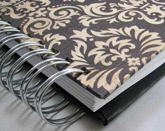 Recette livre - cadeau de mariage de Journal - souvenir recettes - recette de famille Book - livre d'or Bridal Shower - recette - Foodista - cuisine - Damas