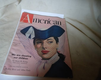 Vintage The American February Magazine, collectable