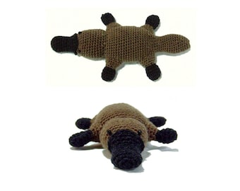 Platypus amigurumi crochet pattern PDF