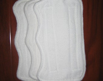 3 Reusable Microfiber Swiffer WetJet Replacement Pad Refills