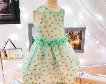 Glittery Heart Dress