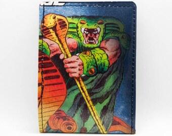 GI Joe Wallet - Comic Book Wallet - Serpentor