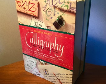 1998 Calligraphy and Lettering complete kit from Reader's Digest - never used