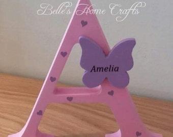 Freestanding Letter, Childrens room decor, kids room decor