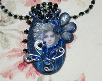 the Lady pendant Butterfly