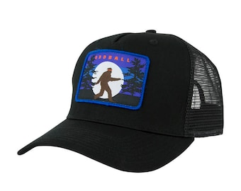 BigFoot Moon Trucker Hat (Black)