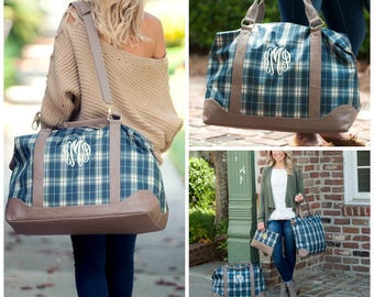Middleton Plaid Collection Weekender