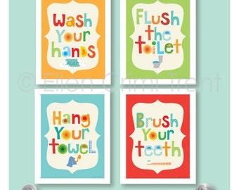 brush your teeth etsy. Black Bedroom Furniture Sets. Home Design Ideas