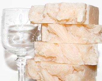 Chardonnay Homemade Soap, Moisturizing Bar Soap, Scented Soap, Wine Soap, Luxury Spa Gift, Gift Soap, CHARDONNAY