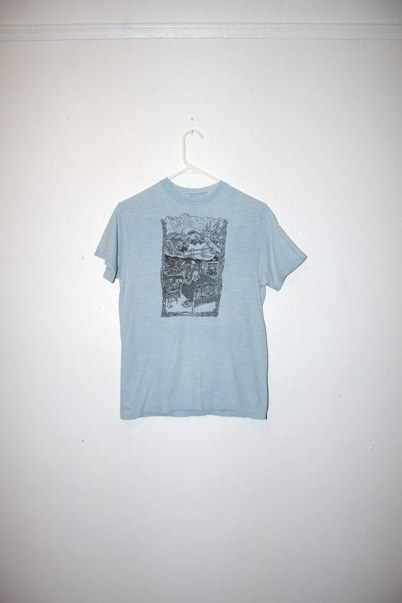 80's DREAMING Peter Aschwanden drawing t-shirt size medium rav2DQD2