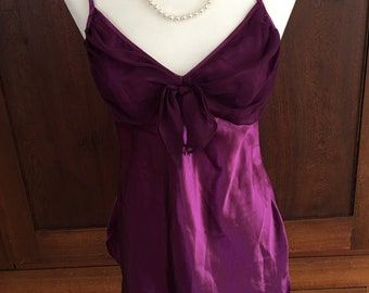 M/Victoria's Secret/Purple/Chemise/Medium/Gold Label
