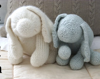 Puppy Dog Knitting Pattern - PDF Instant Download