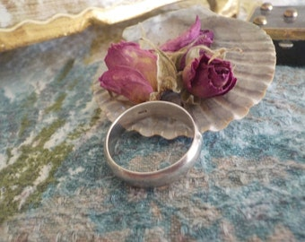 Mexican Silver Band Ring