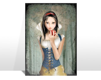 "Postcard ""BIANCANEVE"" (Snow White)"