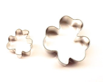 Shamrock Cookie Cutter, Cookie Cutters, Metal Cookie Cutters, St Patrick's Day