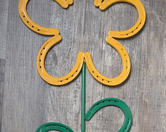 Horseshoe Flower Horseshoe Art
