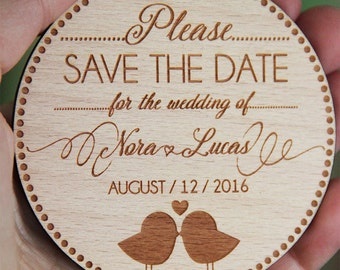 Save the Date Magnets, Wooden Save the Date Magnets, Save the Dates, Wood Magnets, Wooden Save the dates, Wood save the date