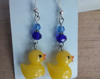 Rubber Duck Earring