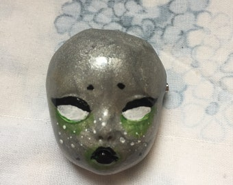 Space Babyface Brooch