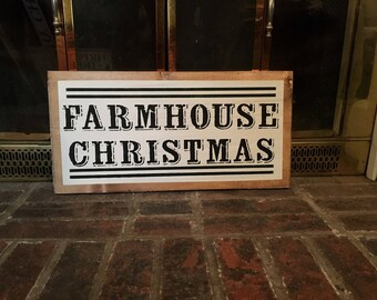 Farmhouse Christmas, Fixer Upper Christmas, Christmas Decor, Christmas Sign, Farmhouse Decor, Farmhouse Christmas Decor,