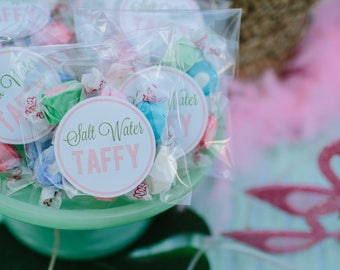 Salt Water Taffy Stickers