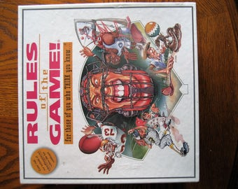 Rules of the Game ( family board game)