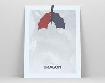 How To Train Your Dragon ~ Toothless, Httyd, Movie Poster, Art Print, Wall Art, Gift for Him, Nursery Art, Nursery Print