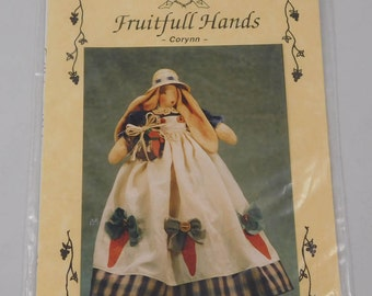Bunny Sewing Pattern, Corynn, Fruitfull Hands, 1996
