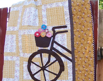Sweet Ride Quilt Pattern - PDF