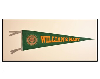 William & Mary college pennant
