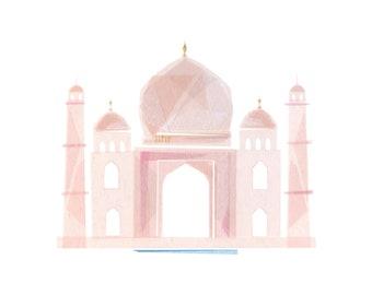 Taj Mahal - Art Print