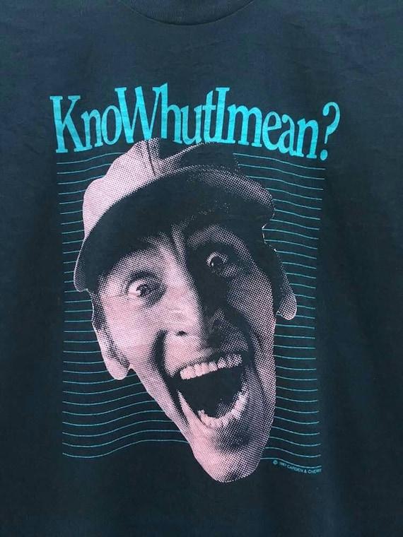 shirt 80s show tv knowhutimean Vintage Fq17II