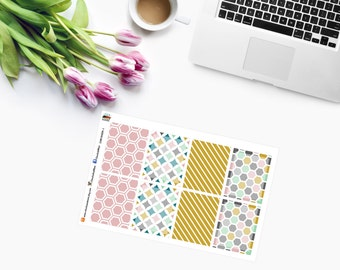 Geometrical FULL BOXES Planner Stickers  CAM00259-1