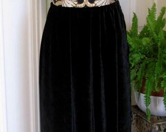 ON SALE/ Metallic Brocade Evening Gown