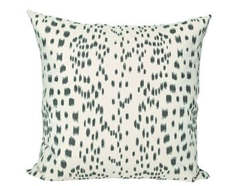 Les Touches Black designer pillow covers - Made to Order - Brunschwig & Fils