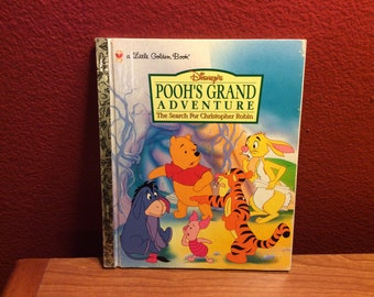 Pooh's Grand Adventure 1998 Little Golden Book