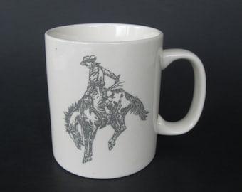 Bucking Bronco Mug