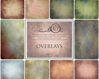 10 High Res Fine Art Digital Overlays / Textures Set 3