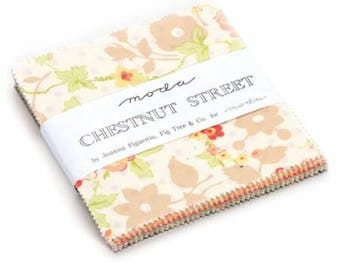 Charm Pack- Chestnut Street- by Fig Tree Quilts for Moda