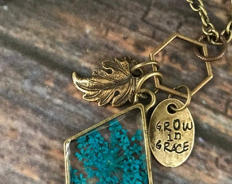 Grow in Grace Necklace
