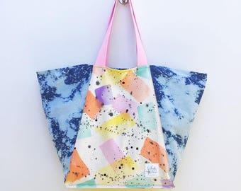 Beach Bunny South Beach // Hand Painted Beach Bag