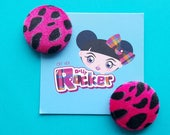 Pink Punk Leopard Print E...