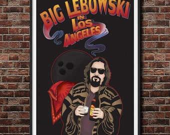Big Lebowski Big Trouble in Little China Mashup Print