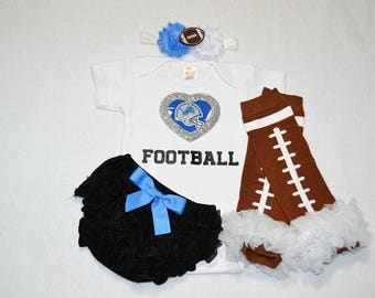 detroit lions baby girl outfit - baby girls lions outfit - detroit lions baby girl football outfit - detroit lions football baby girl