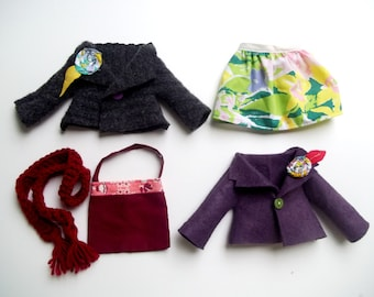 Doll Add-ons, Clothes To Add to Your Hen And Chick Cloth Fabric Rag Doll