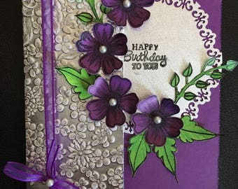 Hand made greeting card