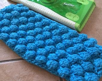 Reusable Mop Cover: Aqua